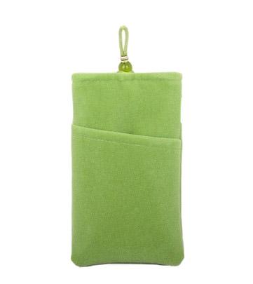 Fancy Soft Velvet Cell Mobile Phone Pouch