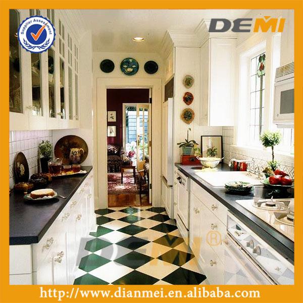Keuken meubels guangzhou, witte keuken kast voor met kristallen ...