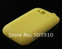 Чехол для для мобильных телефонов 5pcs /lot Colorful Silicone Soft Back Case Cover Skin For HTC Wildfire S G13 New Gift