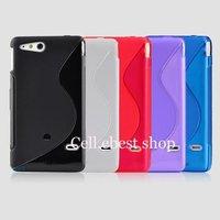 Чехол для для мобильных телефонов new 10pcs/lot s-line silicone gel tpu corver case for sony Xperia Go ST27i