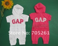 Детский комбинезон 2012 hot saling CottonThe explosion of USA female baby romper Jump suit