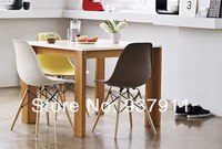 Столовый стул 4 X Eames DSW Chairs Outdoor Furniture