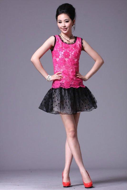 Brand new women dress 2012 full sleeve spring mini dress lady party