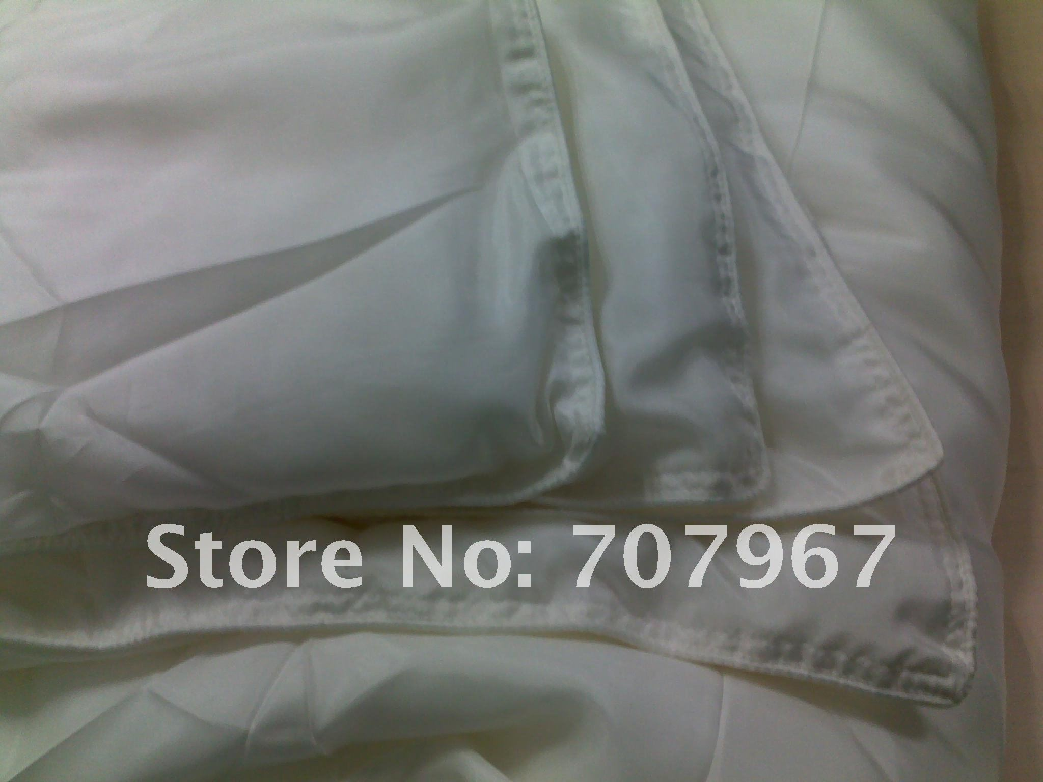 0.9kg 100% silk filling with 100% silk fabric cover, free shipping natural silk quilt, 100% quality guarantee!