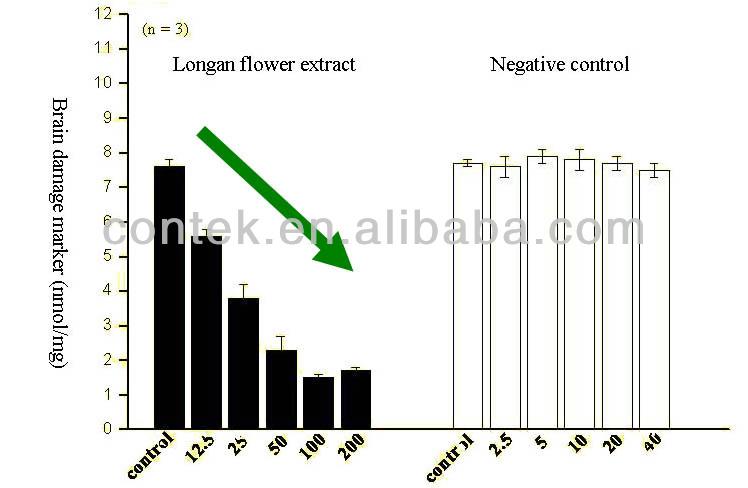 Natrual extrato de ervas para suplementos de perda de memória