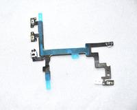 Гибкий кабель для мобильных телефонов Original New Power Mute Volume Button Switch Connector Flex Ribbon Cable For iphone 5 5G