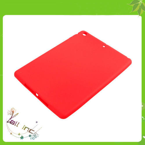 Red Protective Silicone Cover Case for iPad Air