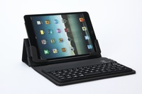 Чехол для планшета Newest Flip Cover case with slim Silicon Bluetooth Keyboard for ipad mini, folding cover wireless keyboard, hot
