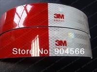Светоотражающие материалы для безопасности на дорогах 50mm Width High Reflective Diamond Grade Orginal 3M Reflective Tape for Car Use