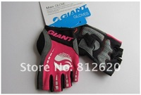 Мужские перчатки для велоспорта 2012 GIANT New Bike Bicycle gloves Half Finger Cycling Gloves for Men