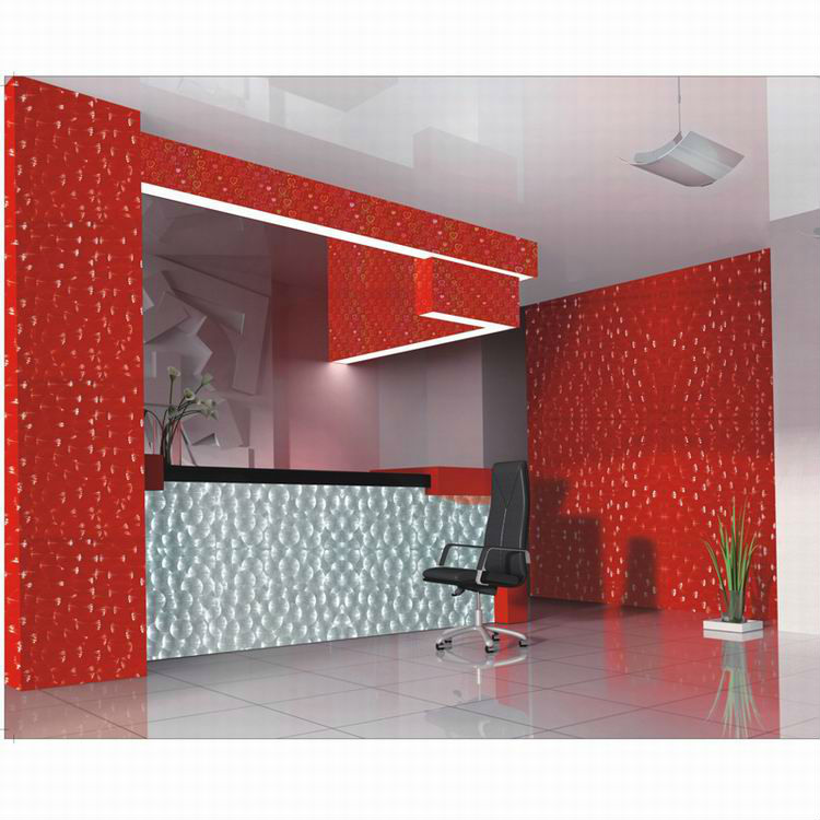 UV coating light weight partition wall panel for indoor