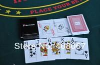 100% High Qualtiy 300Micron Plastic Playing card