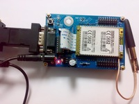Электронные компоненты GSM SMS module board for TC35 UART/232 +Source code