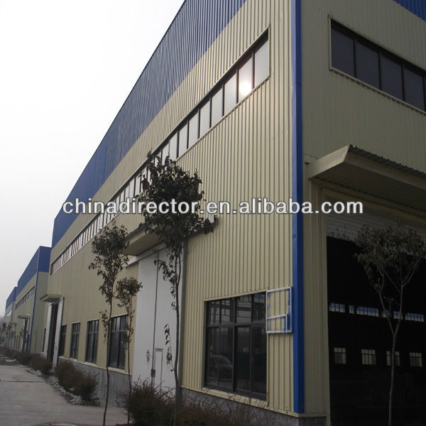 Prefabricated steel structure residential building
