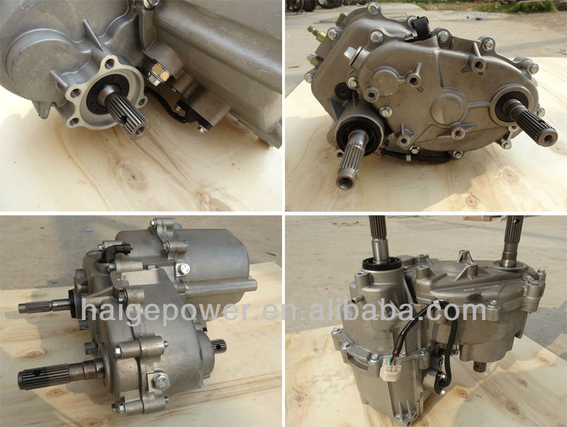 Water cooled engine 2 cylinder 4-stroke CVT transmission & Gearbox