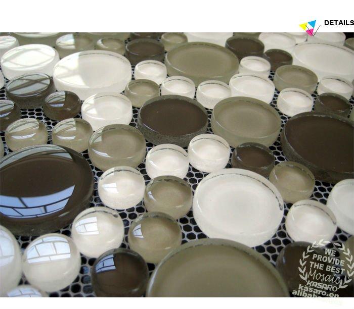 Hot Selling Bubble Glass Decorative Tile