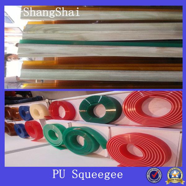green polyurethane squeegee
