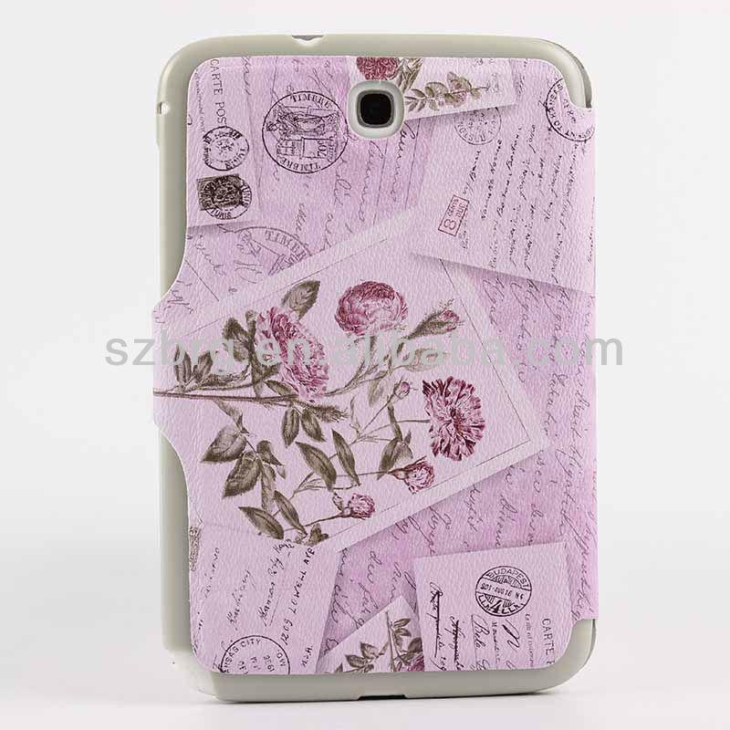 Flower sleeve case for samsung galaxy note 8.0 n5100 n5110