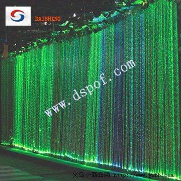 Water curtain fiber