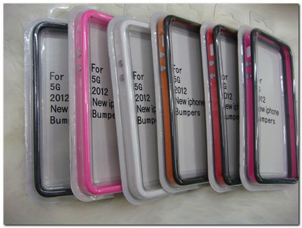 Factory price soft TPU bumper case for iphone 5