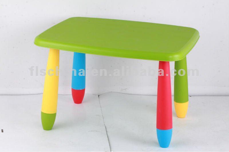 Muti funci n de pl stico de los ni os de mesa y sillas for Mesas estudio ninos