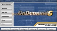 Тестер давления Original repair data car software Mitchell v2010 Ondemand5 -[Factory Price