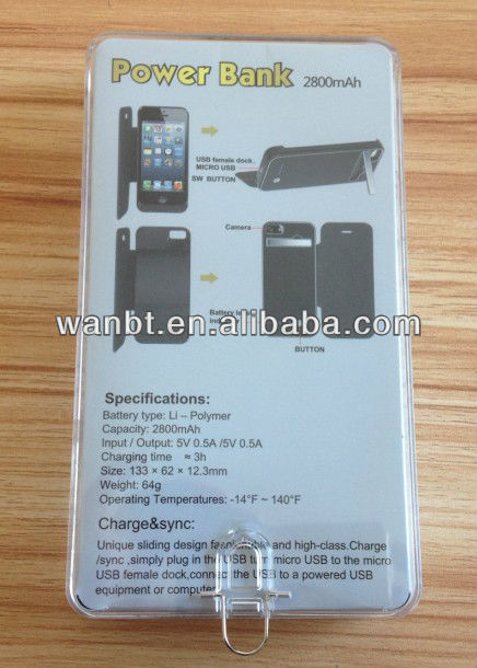iphone 5 2800mah battery case 4