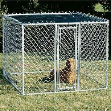 hot galvanized dog kennels