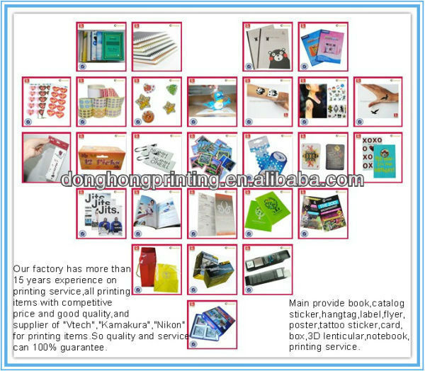 Hot sales book printing with top quality to australia