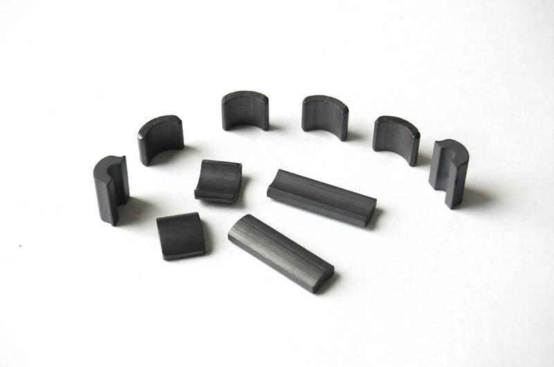 Motor Ferrite magnets