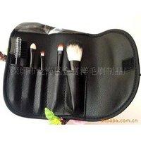 Кисти для макияжа 5pcs Brush Set black
