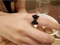 Серьги-гвоздики Roses butterfly black stud earrings Christmas Gift ZQE0046