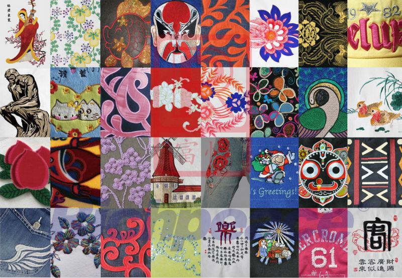 Richpeace Embroidery Machine Standard Series 906 Brand New Design Hot Sale