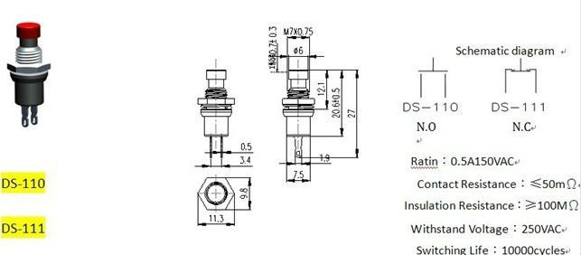 ps 110 electrical wiring push button switch buy switch momentary rh alibaba com wiring a push button starter switch wiring a push button on/off switch