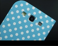 Чехол для для мобильных телефонов Retro Polka Dot PU Leather case for Samsung Galaxy S3 I9300 folding pouch stand cover
