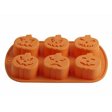 Eu standard Funny Halloween silicone pumpkin cake mold