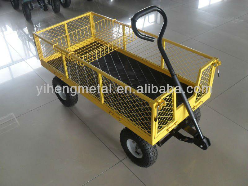 Wagon Garden Cart Nursery Trailer Tc4205g Buy Wagon