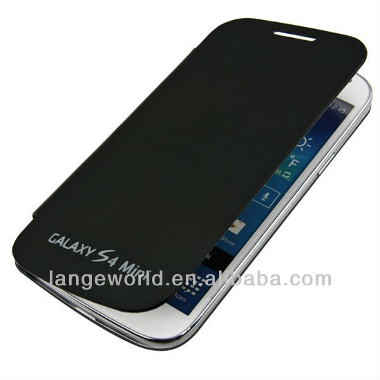 C&T Popular simple design flip back cover case for s4 mini