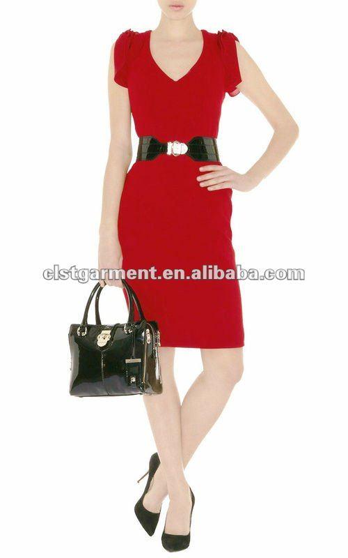 De La Oficina Elegante Vestido Uniformes Para Damas Profesionales Use