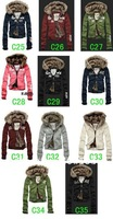 Free shipping brand New Women's fur Sweater Hoodies Jacket Coat Winter thickening outwear