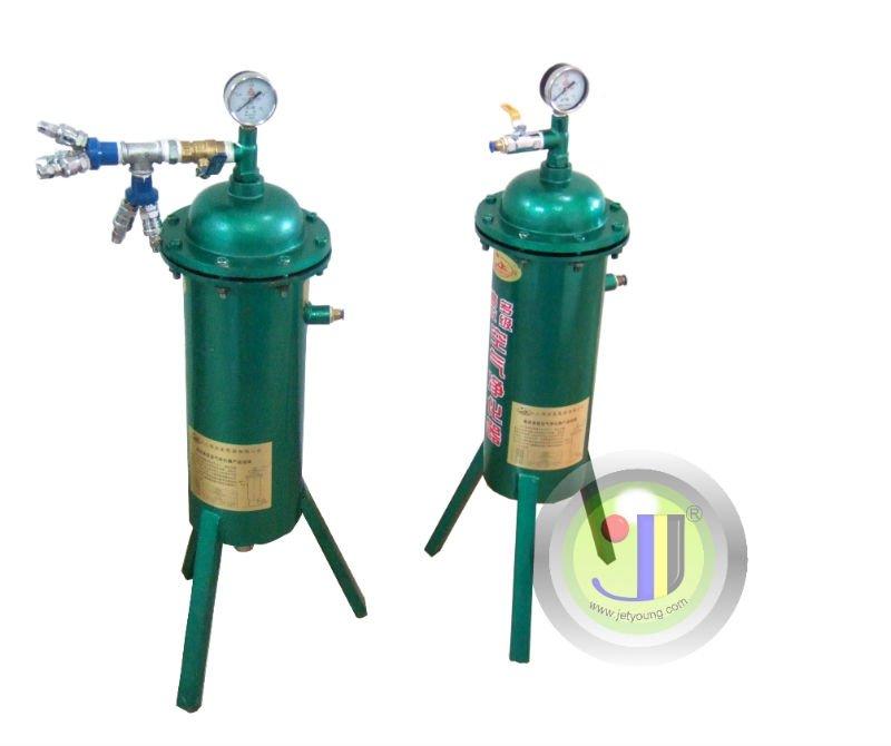 [JETYOUNG]Spray Chrome Plating System (Spray Plating Machine) spray on chrome-Standard Model-Silver chrome.