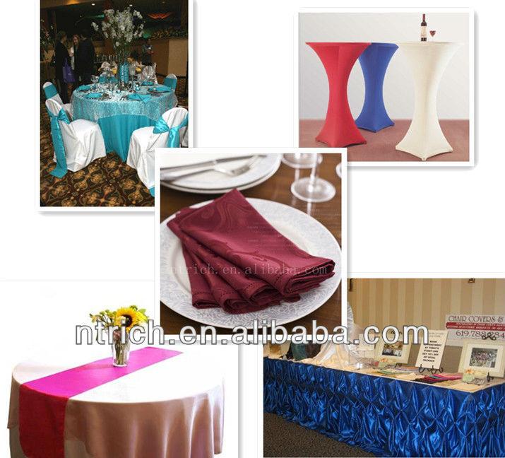 L gante d coration satin chemin de table pour table ronde - Chemin de table pour table ronde ...