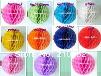 Праздничный атрибут 10pcs 4inches, 10cm Tissue Paper Flower ball/ Honeycomb Lantern Wedding Party festival decor
