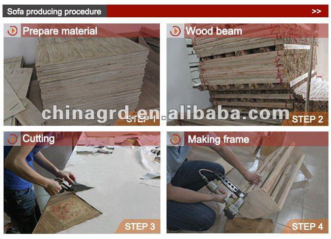Belle l gant futon canap salon id de produit 580119893 for Meuble alibaba montreal