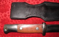 Vintage European Military Dagger Bayonet Sword Sharp Blade