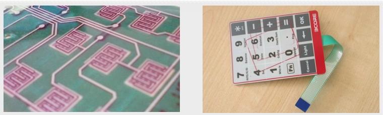 membrane keypads with embedded LED (Red, green, orange)