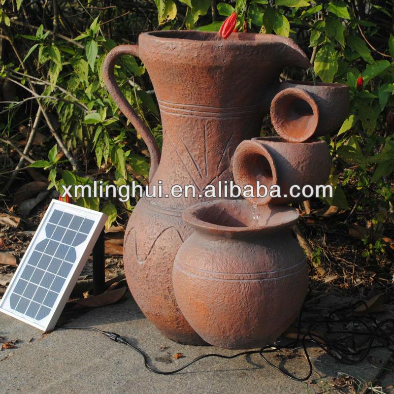 Fuentes Agua Jardin Agua Solares Patio Fuente