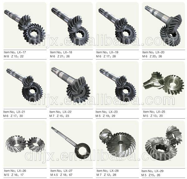 spiral gear 12