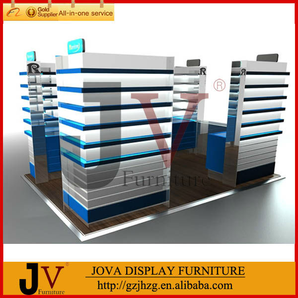 Top Quality Modern Style New Mobile Store Design Display Furniture Direct Manufacturer View