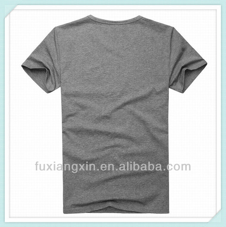 2013 Fashion Mens T-shirt Plain Soft Combed Cotton Nice Quality with Custom OEM Manufactuer Service